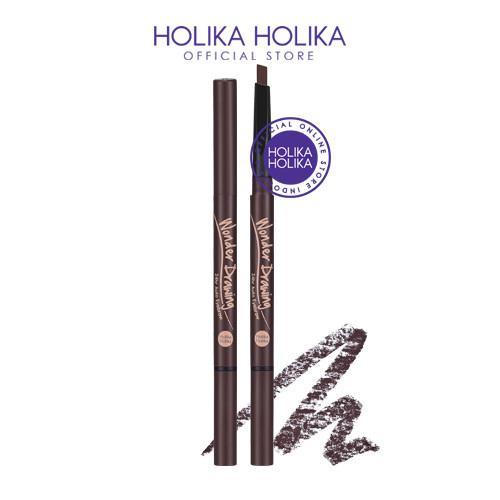 Foto Produk Holika Holika Wonder Drawing 24hr Auto Eyebrow - 02 Dark Brown - 5412 dari Holika Holika Indonesia