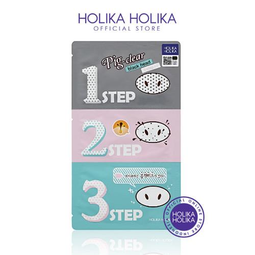 Foto Produk Holika Holika Pig-nose Clear Blackhead 3 Step kit - 20011716 dari Holika Holika Indonesia