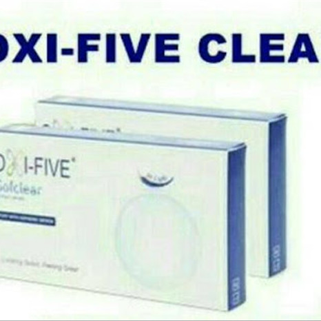 Foto Produk softlens bening bulanan monthly oxifive clear ready minus tinggi -15 dari ASEAN Shop