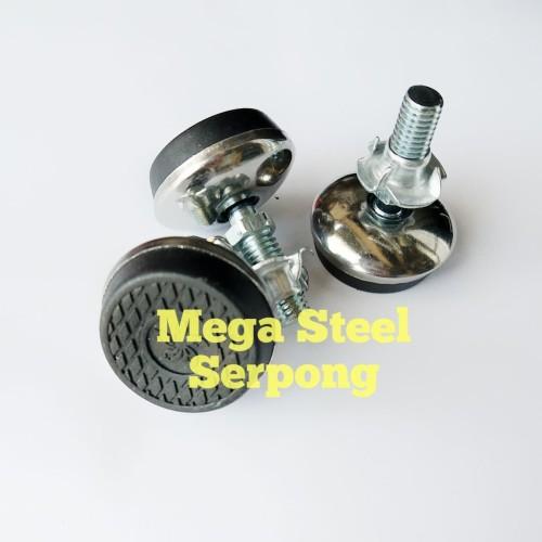 Foto Produk Kaki Meja Adjuster Foot Diameter 32 mm dari Mega Steel