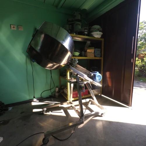 Foto Produk mesin aduk bumbu diagonal tabung 60cm dari yash mesin