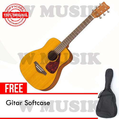 Foto Produk Yamaha Gitar Mini Ukuran 3/4 FG Junior JR-1 / JR1 / JR 1 + Softcase dari W Musik