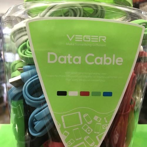 Foto Produk kabel data VEGER micro 2.1a fast charger 1 TOPLES isi 50pcs dari star88
