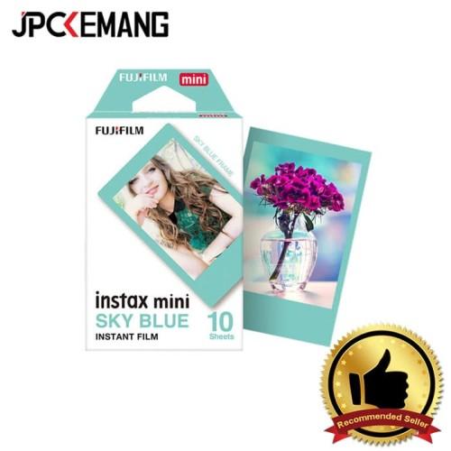 Foto Produk Paper Film Instax Sky Blue Single Pack (10 sheets) dari JPCKemang