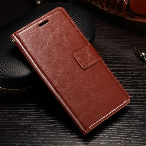 Foto Produk FLIP COVER WALLET Samsung A8 - A8 Plus 2018 leather case casing kulit - A8 PLUS, Hitam dari Casing handphone murah