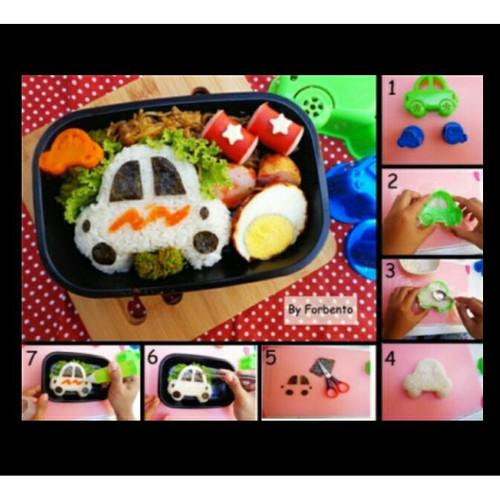 Foto Produk cetakan Nasi mobil/ Cetakan bento / Cetakan roti dari angelina online shop
