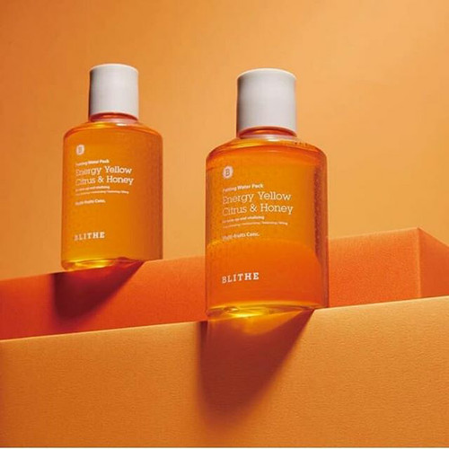 Foto Produk Blithe Patting Splash Mask Energy yellow citrus & honey splash mask dari Korean US cosmetics