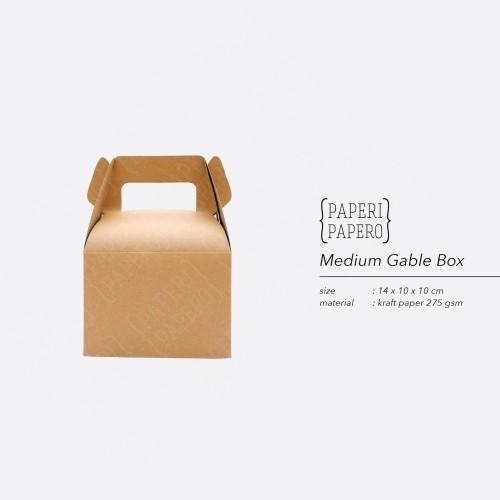 Foto Produk Medium Kraft Gable Box by Paperi Papero dari {Paperi Papero}