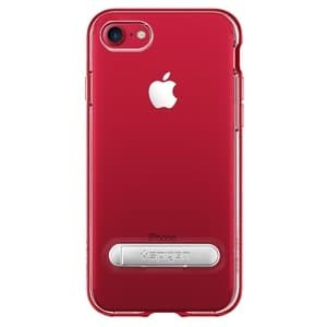 Foto Produk Spigen Crystal Hybrid Case for iPhone 7 / iPhone 8 - Red / Merah dari Gadget Shop Online shop