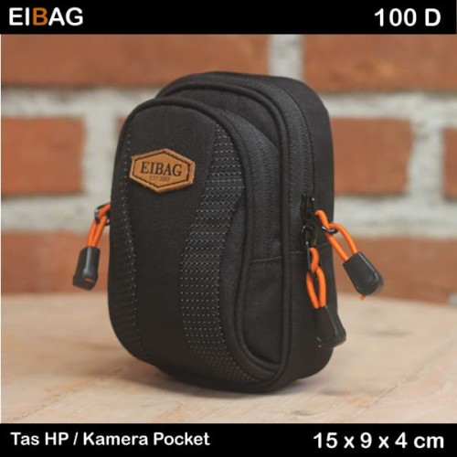 Foto Produk Tas Hp | Tas Go Pro | Tas Kamera Pocket Eibag 100 Abu dari eibag-indonesia