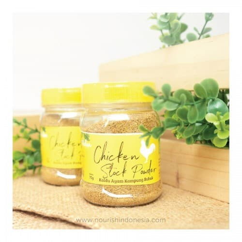 Foto Produk Aidan, Chicken Stock Powder (Kaldu Ayam Kampung) 75gr dari Nourish Indonesia