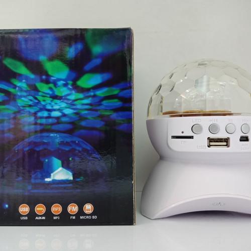 Foto Produk Speaker Lampu disko LED Bluetooth Speaker L740A Wireless Disco Light L dari yungzshop