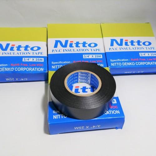 Foto Produk Isolasi Kabel Merk Nitto Bahan Tebal 25 M dari Lestari Motor 2
