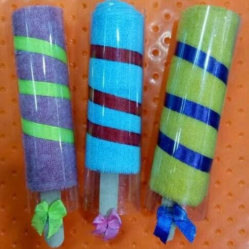 Foto Produk Souvenir Pernikahan Handuk Lollipop Bentuk Permen Sovenir Ulang tahun dari ZA MODE
