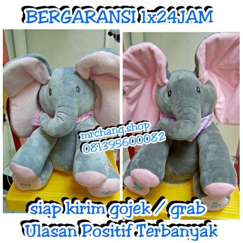Foto Produk boneka gajah musik peek a boo elephant cocok untuk anak anda dari mrchang.shop