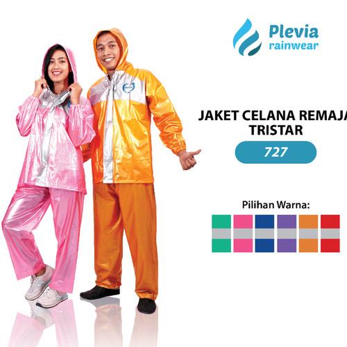 Foto Produk Jas Hujan Remaja Tristar Plevia 727 Stelan Raincoat Jaket Celana dari TUNAS SEJAHTERA