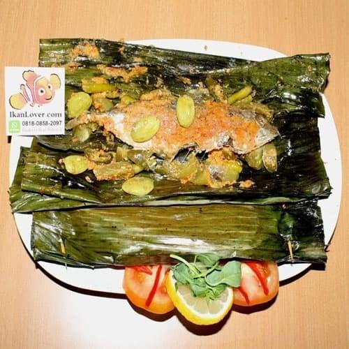Foto Produk Pepes Ikan Asin Peda Tomat Ijo dari Ikanlover