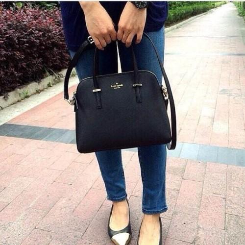 Foto Produk supplier tas dompet wanita murah batam harga grosir, Katespade Maise - Hitam dari sopaybags