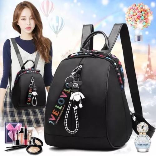 Foto Produk Tas Ransel Wanita/Backpack Import Korean Model High Quality CS-LV 01 dari J&J Collection Store
