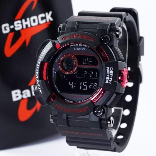 Foto Produk Jam G-Shock Frogman KW Black Red GWF-1000 dari TOKONYA DISINI