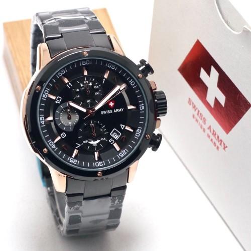 Foto Produk jam tangan SWISS ARMY PRIA MAN STYLE RANTAI STAINLESS dari Multyshop MSI