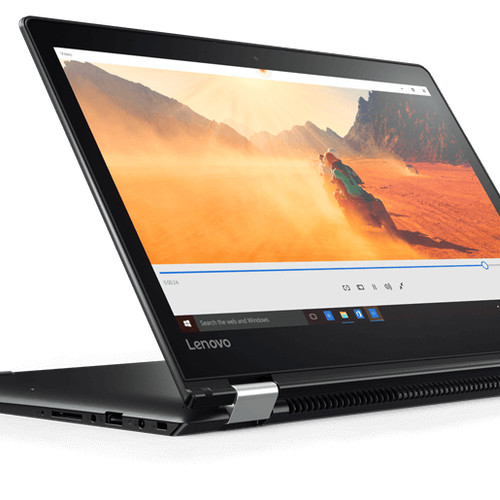 "Foto Produk LENOVO FLEX 4 i5 7200U/8GB/1TB/INTEL HD 620/14"" FHD X360/WIN10/BLACK dari mahkota laptop"