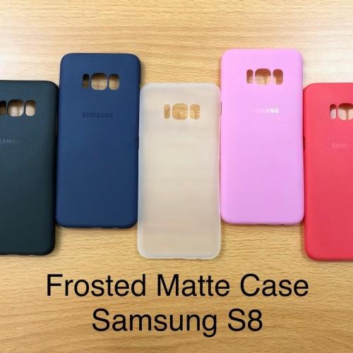 Foto Produk C105 Samsung S8 Frosted Matte Case Ultrathin Premium dari Pro Glass