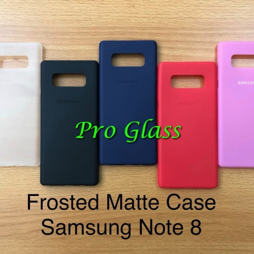Foto Produk C105 Samsung Note 8 Frosted Matte Case Ultrathin Premium dari Pro Glass