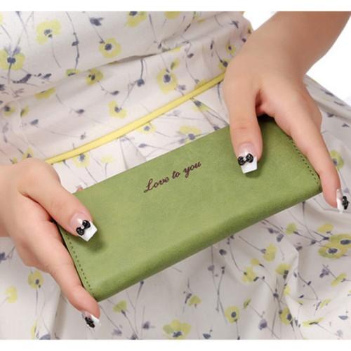 Foto Produk Ms. Wallet Dompet Panjang Wanita - Hijau dari Maslinda Store