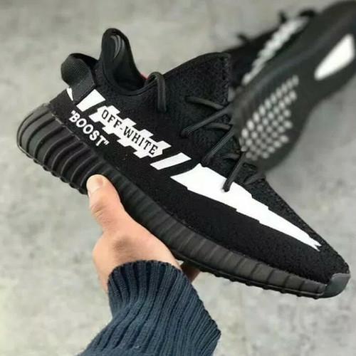 Foto Produk Sepatu Adidas Yezzy Boost V2 350 X Off White Size 40-44 Sneakers pria dari Side Sport