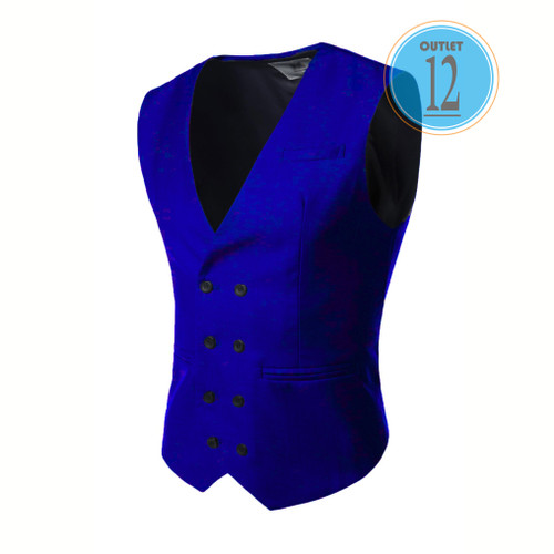 Foto Produk Vest terbaru - fashion anak kuliahan - biru - super keren- daleman jas - Biru, S dari Outlet 12