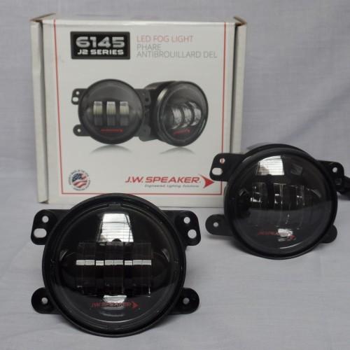 Foto Produk Fog Lamp JW Speaker LED J2 Black Series For Jeep JK Wrangler dari PIONIR JEEP
