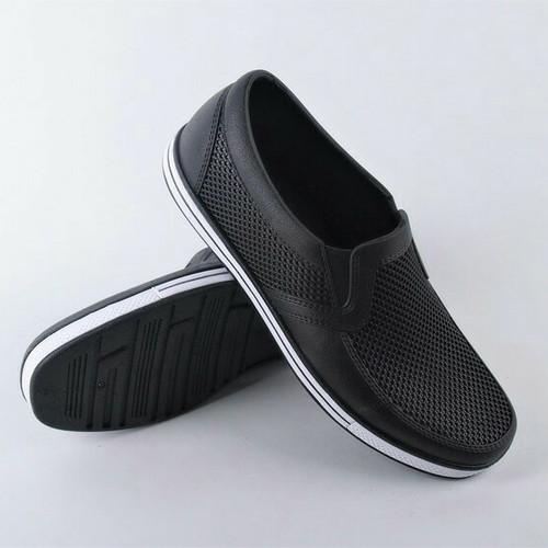Foto Produk Sepatu Pantofel Karet Merk Sankyo SAF 1146 - Hitam, 40 dari Toserba online 99