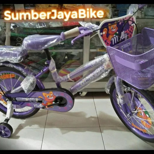 Foto Produk Sepeda mini united 18 molly dari sumber jaya 1990