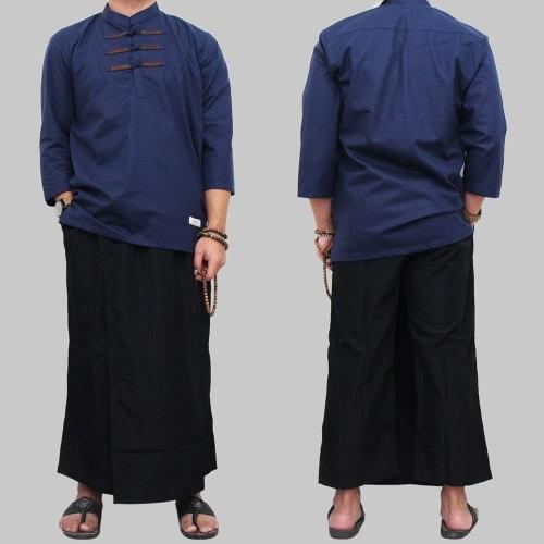 Foto Produk Baju koko muslim setelan pria koko dan sarung dari clothing grosir