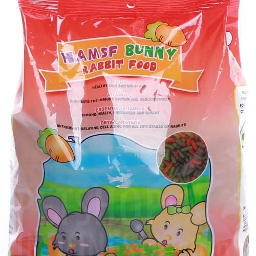 Foto Produk Hamsf Bunny 1kg Makanan Pelet Kelinci - EXP 2022-10 dari Hime petshop