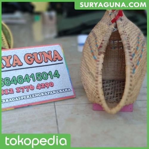 Foto Produk Tas Ayam Aduan Bahan Rotan Super dari SuryaGuna