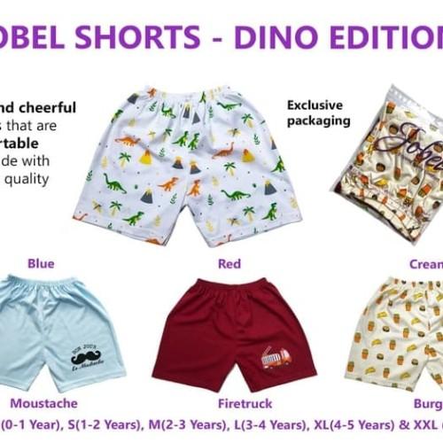Foto Produk JOBEL Shorts 4pcs Celana Pendek Anak Laki-laki Baby Boy Short Pants - S 1-2thn dari ANINDHITA Clodishop