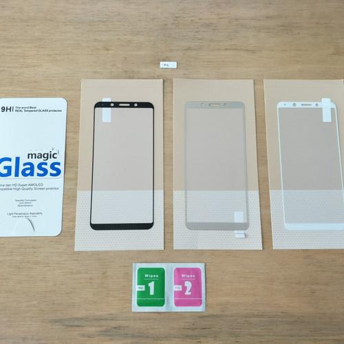 Foto Produk Tempered Glass Full Colour HRY - Oppo F5 dari Golden Rabbit Acc