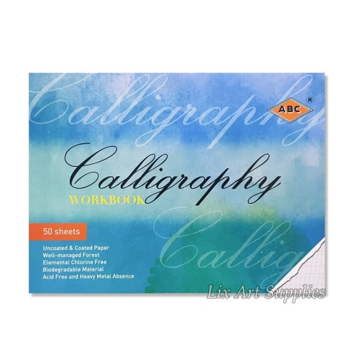 Foto Produk ABC Calligraphy Workbook - 50 Sheet (22.9 x 30.5cm) dari Lix Art Supplies