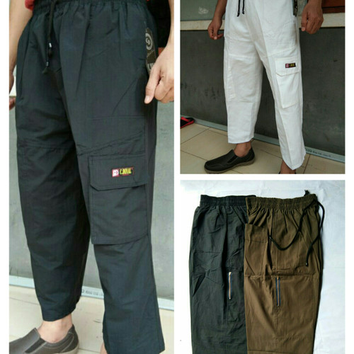 Foto Produk Celana Panjang Pangsi Sirwal Bisa Buat Sholat - Putih dari alifvia