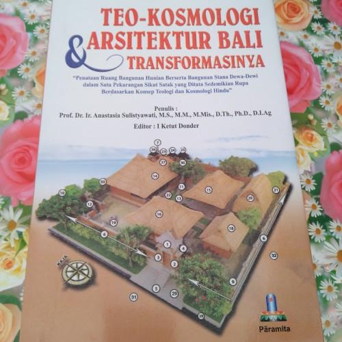 Foto Produk Buku Teo kosmologi arsitektur Bali dan Transformasinya dari Hare Krishna