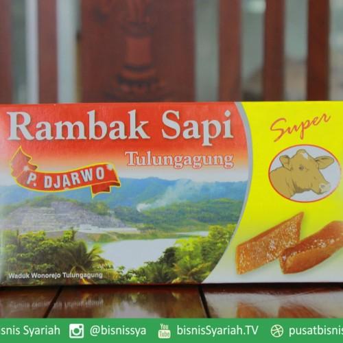 Foto Produk RAMBAK SAPI (mentah) krecek rambak sapi ''PAK DJARWO'' asli Tulungagun dari PBS.Official Store