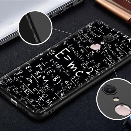 Foto Produk High Quality Case Xiaomi Redmi 5 Plus - Black Silicone Material dari Doki Custom Case