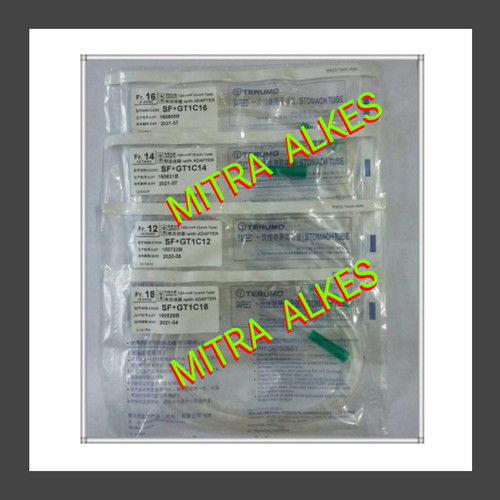 Foto Produk Ngt Terumo Fr 12 14 16 18. TERUMO Stomach Tube. Selang Makan Ngt Trumo - FR 14 dari MITRA  ALKES