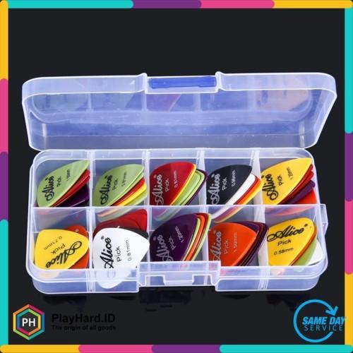 Foto Produk Pick Gitar Akustik 50PCS - Multi-Color dari PlayHardID
