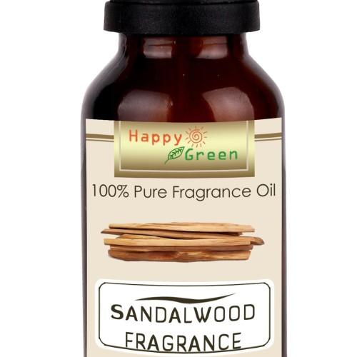 Foto Produk Happy Green Sandalwood Fragrance Oil (10 ml) - Minyak Kayu Cendana dari Happy Green Garden - JKT