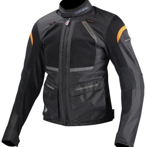 Foto Produk KOMINE JK-102 3D Protect Jaket Touring - Black - 3XL dari Helm Cargloss
