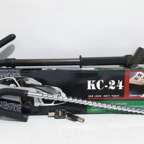 Foto Produk Kunci Setir dan Pedal Gas Mobil KC-24 - Pengaman Stir Mobil Universal dari MASTER MOTOR VARIASI