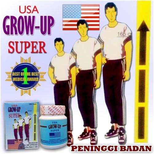 Foto Produk Suplement - Obat Peninggi Badan Grow Up Super USA dari Toko Matra